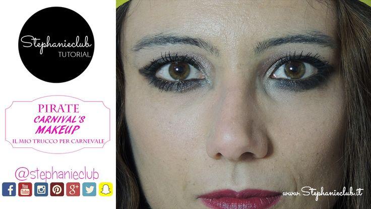 Tutorial Pirate Carnival's Makeup | stephanieclub