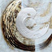 ATM163- schilderij cirkel 100x100