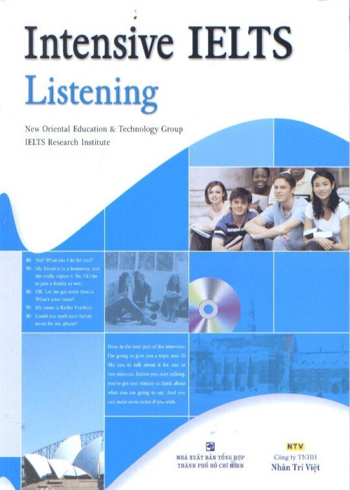 INTENSIVE IELTS LISTENING (PDF + AUDIO)