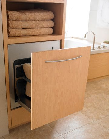 10 best Towel warmer drawers- GENIUS! images on Pinterest | Towel ...