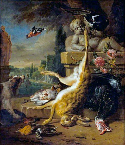 La composition chez Jan Weenix