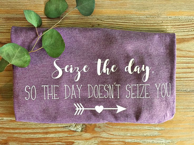 Epilepsy Awareness T-Shirt // Adult Shirt // Seize The Day, So The Day Doesn't Seize You // Custom Tee by TeenyTotsStudio on Etsy https://www.etsy.com/listing/471841004/epilepsy-awareness-t-shirt-adult-shirt
