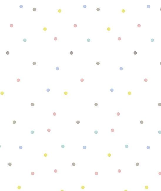 Happy Clouds Confetti - Behang | Behang | Gras onder je voeten