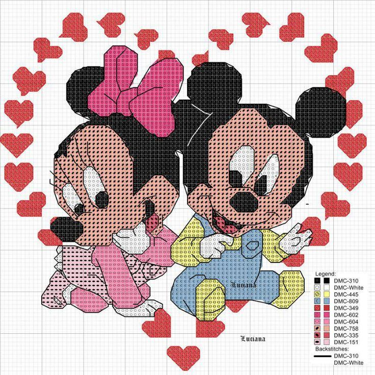 Baby Mickey & Minnie