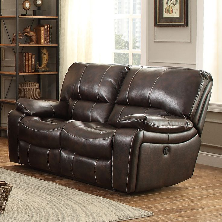 Timkin Power Reclining Loveseat Images