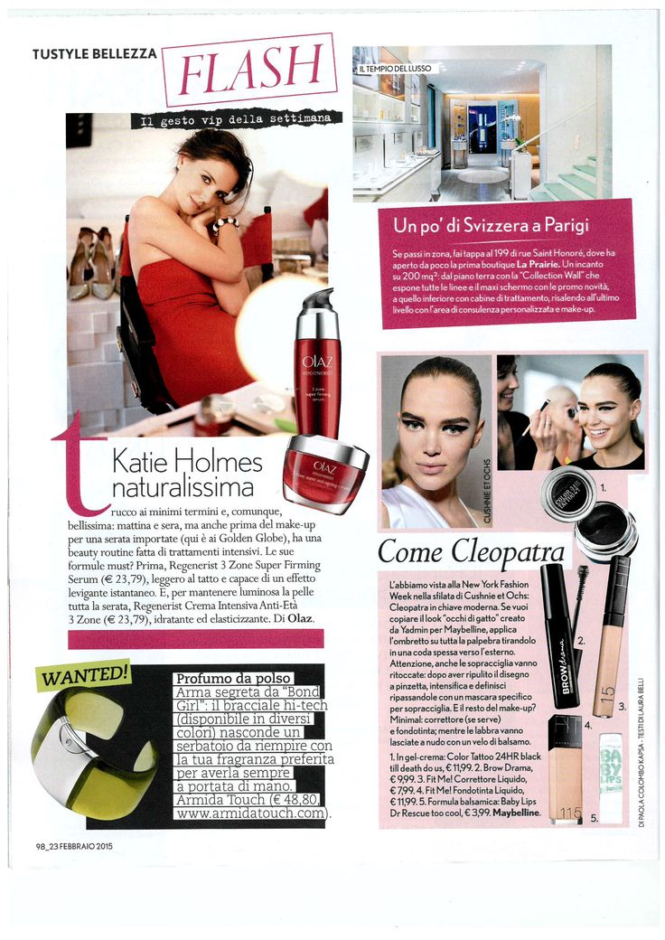 @armidatouch in Tu Style magazine! thanks for choosing us #style #magazine   http://www.armidatouch.com/press