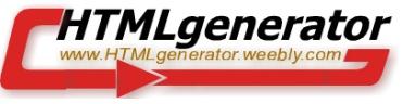 CSS 3D Text Generator - HTMLgenerator