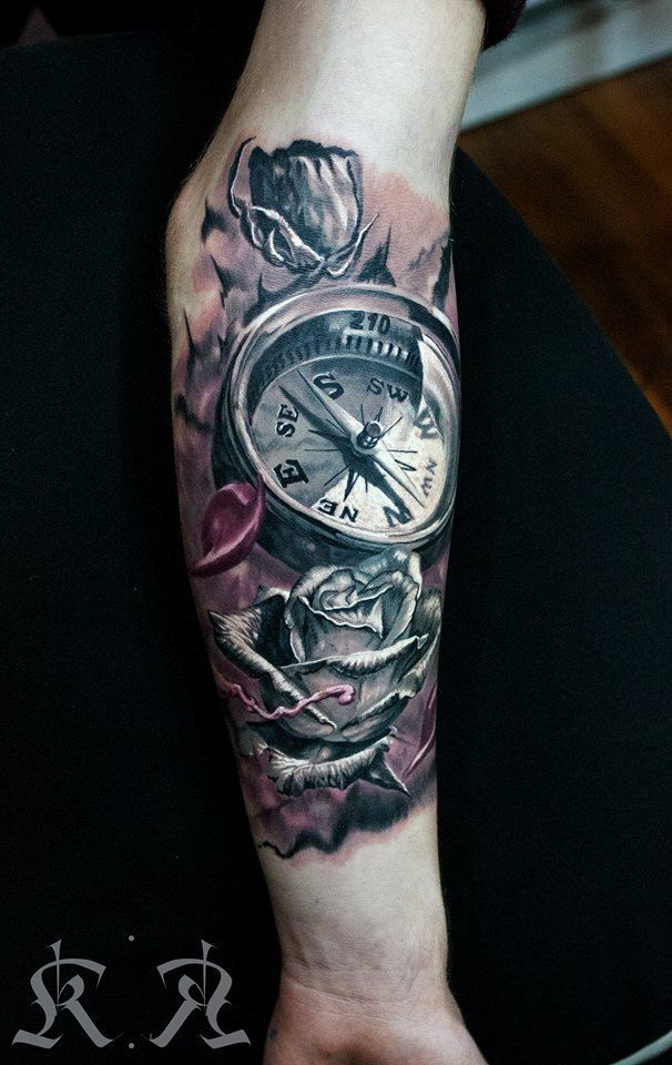 compass-tattoos-23