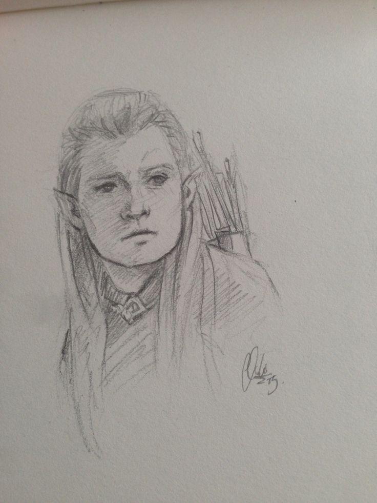 Legolas sketch <3