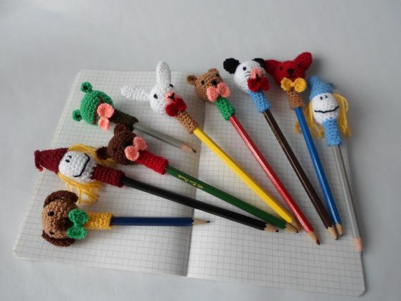 Animal Pen & Pencil Topper