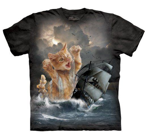 The Mountain Men's Krakitten T-Shirt Black L