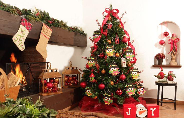 Arbol Buhos,Revista Kena La Navidad