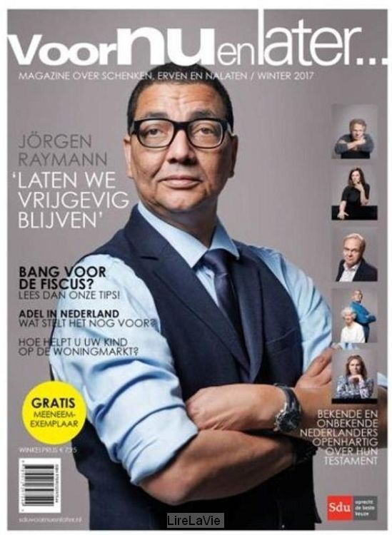 08-02-2017 Voor nu en later, Magazine over erven, schenken en nalaten. 2017. Voor Nu en Later is erop gericht de consument te informeren over wat er allemaal komt kijken bij een goede afwikkeling van de eigen nalatenschap.