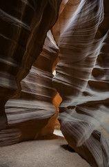 Antelope slot canyon pathway
