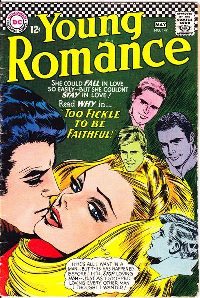 Young Romance  #romance #comics #DC #silver age