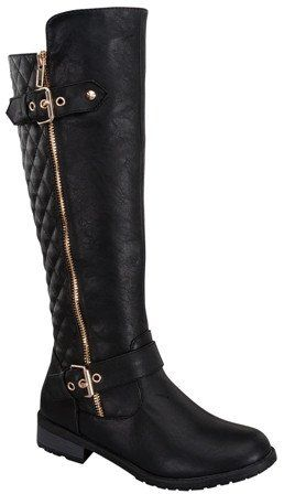 Ohhhh the possibilities  Ladies fashionable stylish knee high boot with buckle http://www.allthingsvogue.com/best-luxury-over-the-knee-boots/