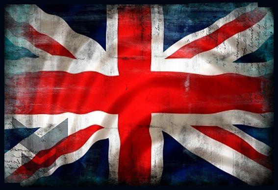 Tableau photo drapeau anglais