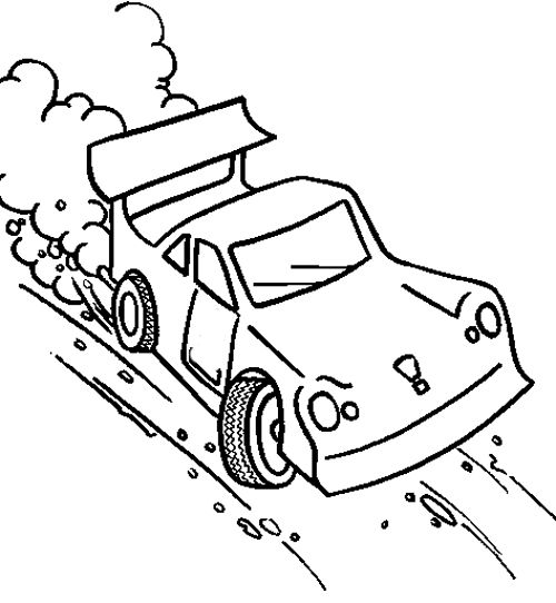coloring pages race track - photo #16