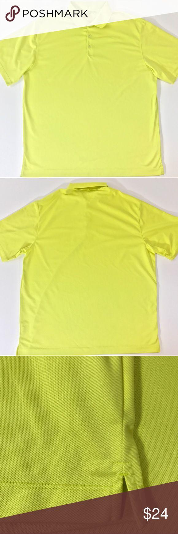 Shirt design measurements - Men S Nike Dri Fit Golf Polo Shirt Yellow Size Xl