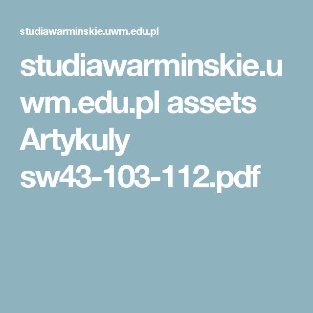 studiawarminskie.uwm.edu.pl assets Artykuly sw43-103-112.pdf