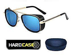 8667348d414 Salman Khan Tiger Zinda Hai Fame Inspired+BLUE Iron Man Tony Stark Sunglasses  IronMan Movie