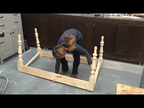 VIDEO TUTORIAL: How to Build a Farmhouse Table Base