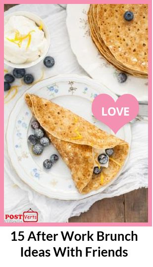 15 After Work Brunch Ideas With Friends... It's Friday! The weekend is on the way. What do you say about Friday after work party with your friends or colleagues? Instead of going in a restaurant or bar, why don't you  invite your friends at your home and make your own party? Here are some ideas what to prepare for the Friday afternoon at your home or in the garden / backyard... Check out at http://postverts.com/15-After-Work-Brunch-Ideas-With-Friends_fuuh6hh