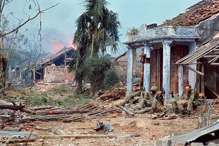 Quang Tri 1968.. The bloodiest combat zone in Vietnam..