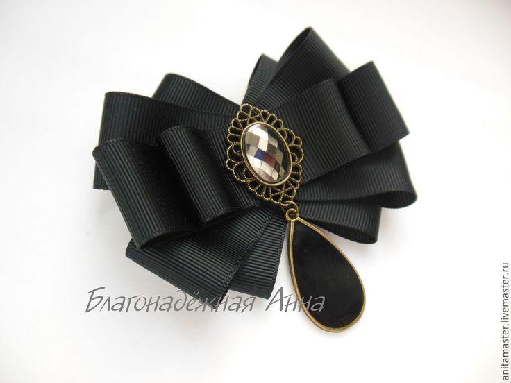 Купить Брошь. - чёрно-белый, черный, белый, брошь, ручная работа, подарок, девушке, украшение
