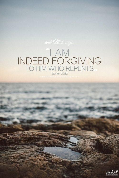 ALLAH forgives