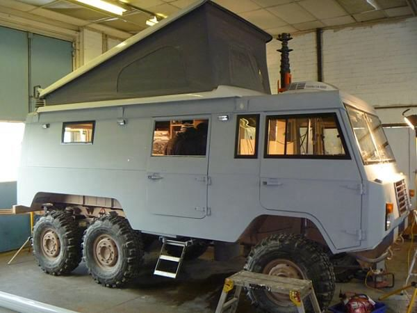 Volvo C306 camper