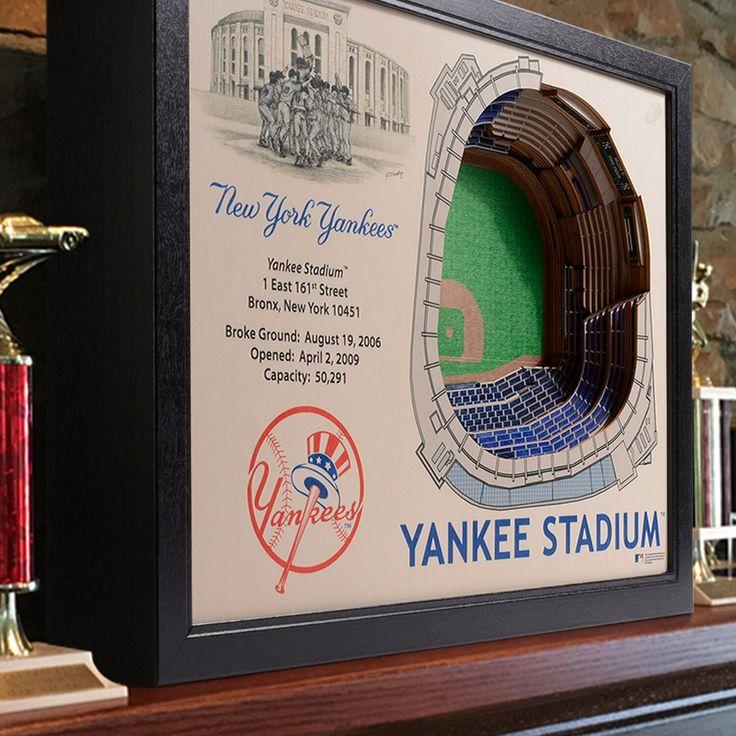 New York Yankees Stadiumviews 3d Wall Art Yankees York Stadiumviews Art Wall Art New York Yankees