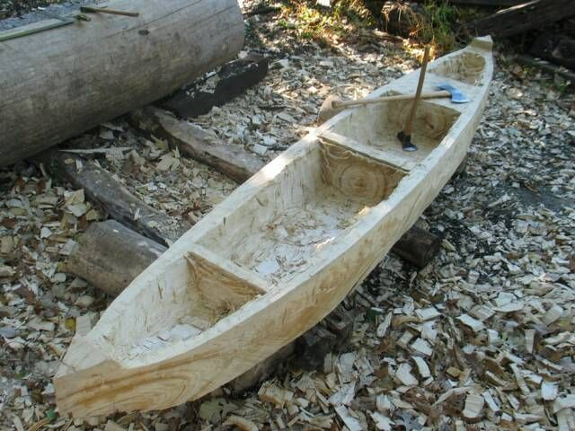 Making a Dugout Canoe, 1820sTrekkin, Primitive Trekking, Will Ghormley - Maker, 1820s Hawken Full Stock Flintlock Rifle