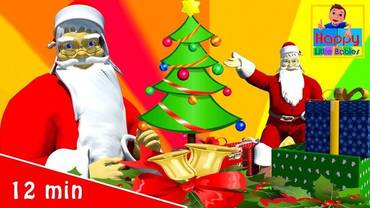 Jingle Bells | Christmas Songs | Plus  More Children's Songs |  Happy Li...