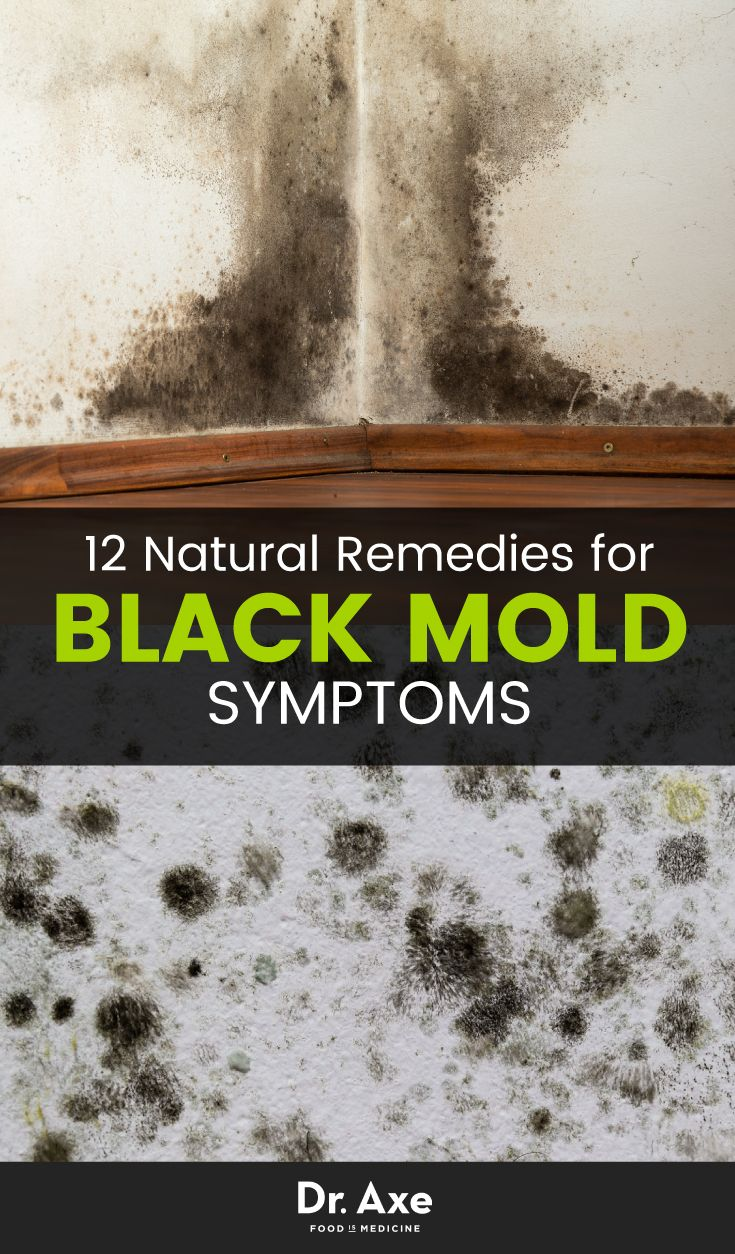 How to identify black mold - 8 Signs You Need A Black Mold Detox