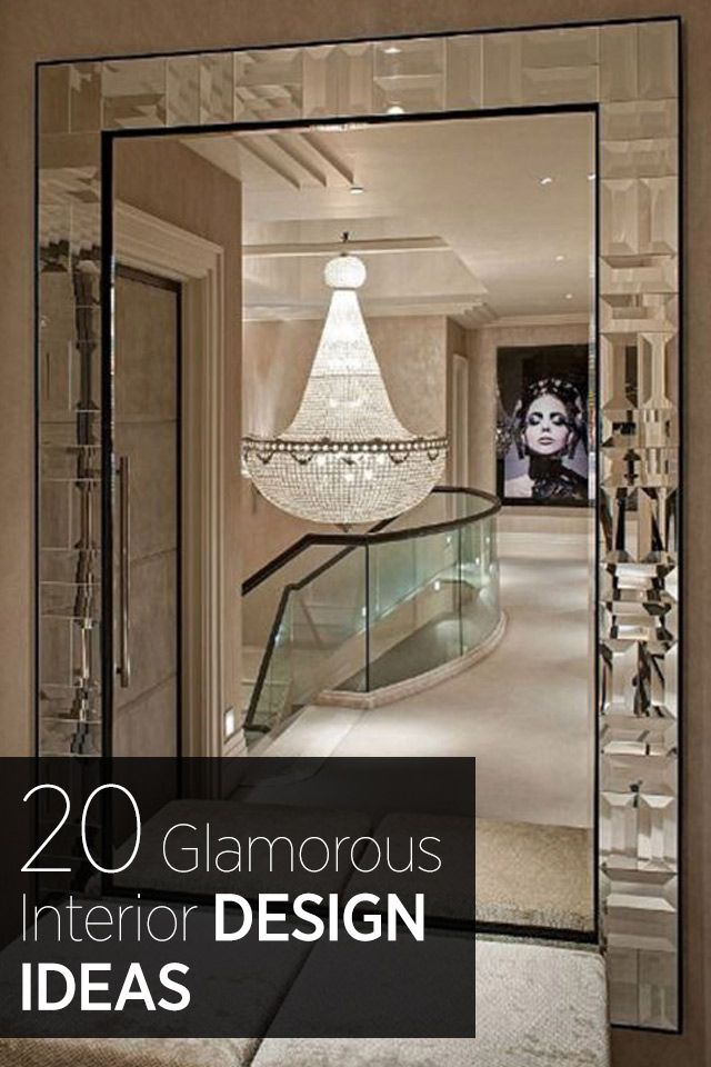 Interior design ideas for the glamorous woman. See the most inspiring, glamorous bedrooms, bathrooms, living rooms and more here.