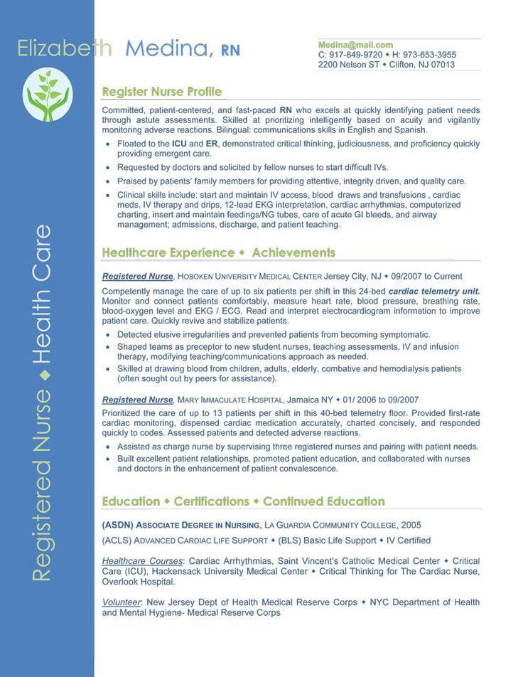 Entry Level Nurse Resume Sample Sample Resumes Nursing