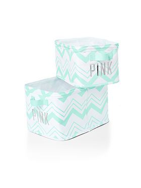 Storage Bins - PINK - Victoria's Secret from VS PINK