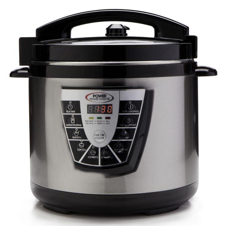 Power Pressure Cooker Original AUS DEM TV Elektrischer Schnellkochtopf | eBay