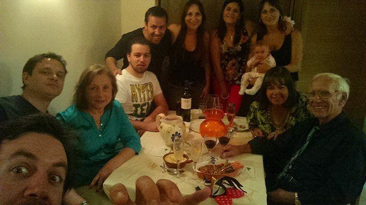 Joachim May y familia #selfiedecosta