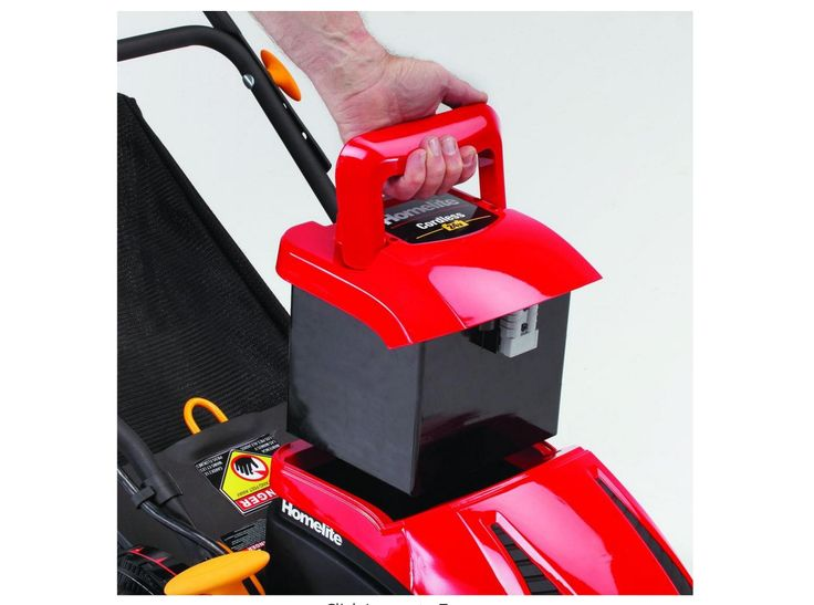 Homelite 24v Replacement Cordless Battery Rechargeable Walk-Behind Lawn Mower