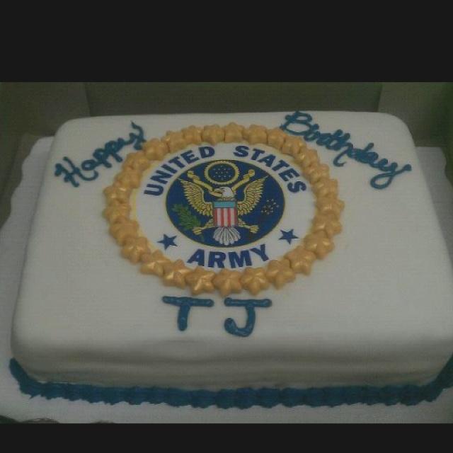 Birthday Army Cake  Army cakes  Pinterest