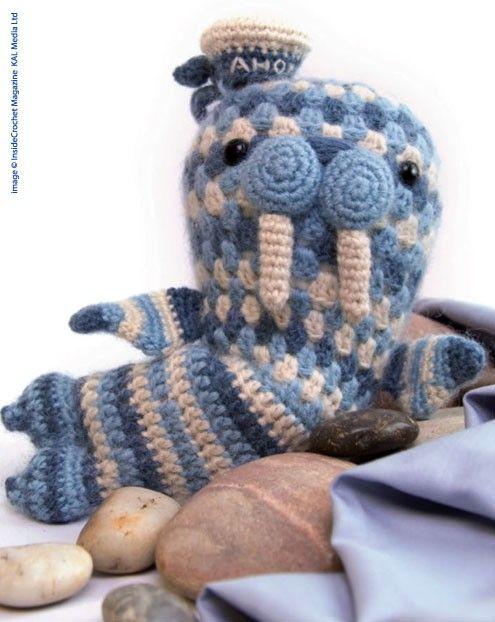 Walter The Walrus #crochet #pattern