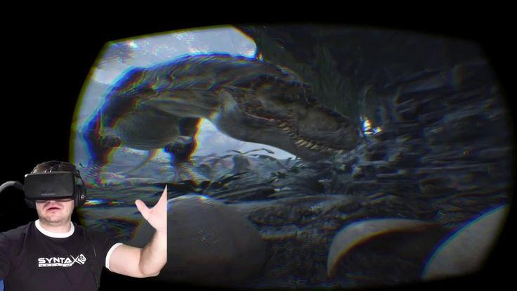 ▶️ Oculus Rift DK2 és a Dinó Baby 【régi videó - 2016】