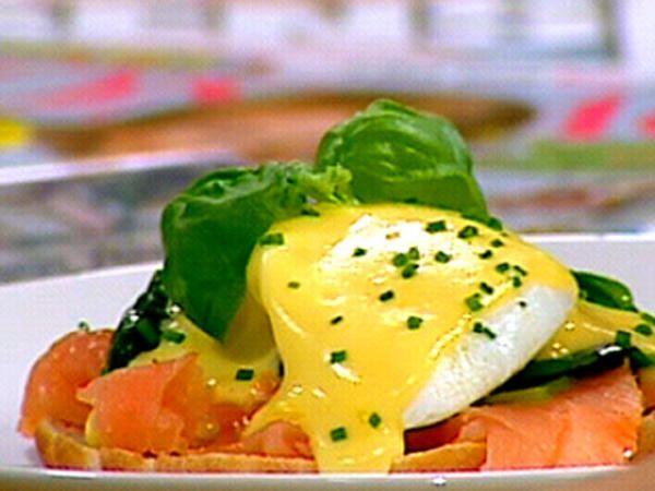 Ägg florentine med lax