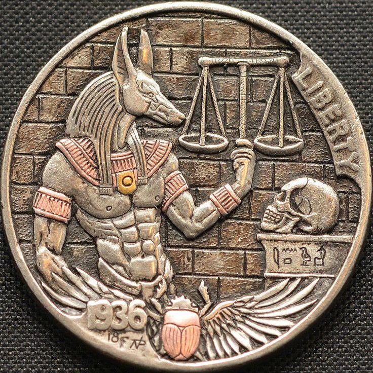 древние египетские монеты фото она