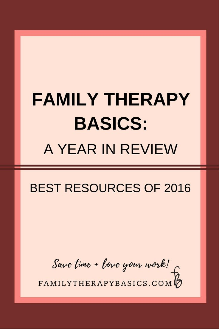 As I wrap up 2016 as a business owner, I am providing a handy list of the most popular resources for therapists found on the Family Therapy Basics site in 2016. Take a look and see if you missed something!
