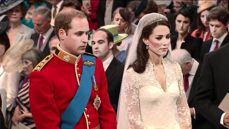 "The Royal Wedding Vows:  Prince William and Catherine ""Kate"" Middleton say their wedding vows."
