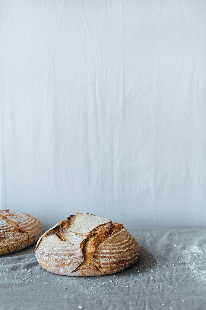 Wheat and rye sourdough bread