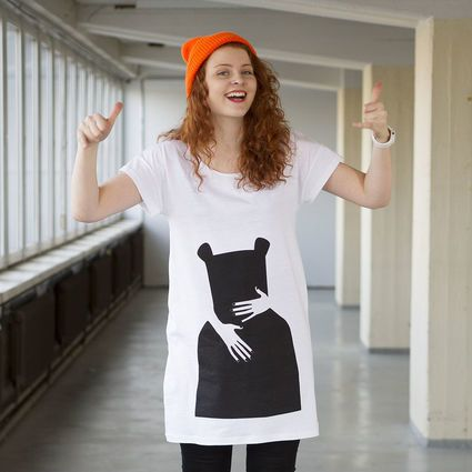 Bear Hug, T-paita mekko